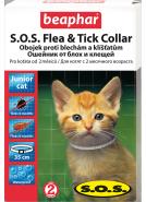 Beaphar Ошейник S.O.S. от блох и клещей для котят