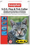 Beaphar Ошейник S.O.S. от блох и клещей для кошек