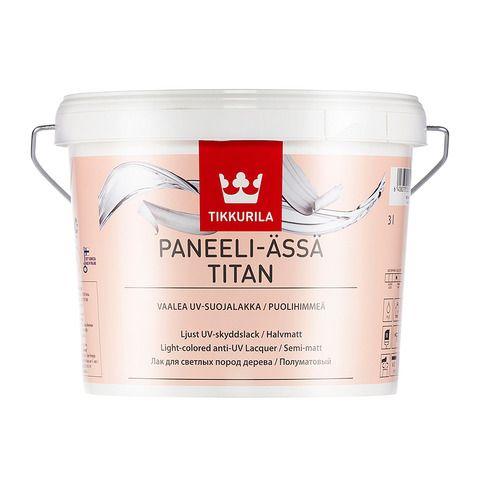 Лак для дерева Paneeli Assa Titan