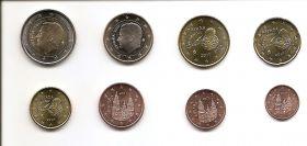 Годовой евро набор Испания  2017 UNC