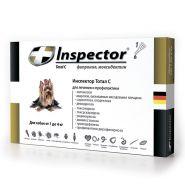 Инспектор Тотал С Капли от внешних и внутренних паразитов для собак от 1 до 4 кг