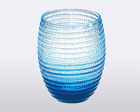 """Стакан для воды (голубой) """"Helix"""""""