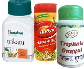 Базовая программа снижения веса для Капха-конституции (Чаванпраш , Трифала Гуггул и Трикату)