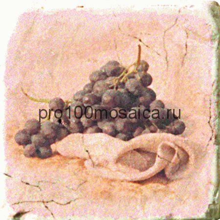 151264-12-5912-1 Cir Marble Style Inserto Tradition S/3 (Виноград) 10х10 см (CIR)