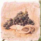 151264-12-5912-1 Cir Marble Style Inserto Tradition S/3 (Виноград) 10х10 см (CIR, Италия)