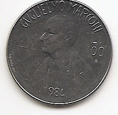 Гульельмо Маркони 200 лир (Регулярный выпуск)  Сан-Марино 1984