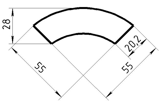 Рамочный Профиль №80