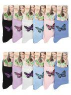 Женские носки с рисунком 37-41 №5005