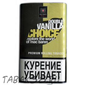 Табак сигаретный Mac Baren  Double VANILLA CHOICE 40гр