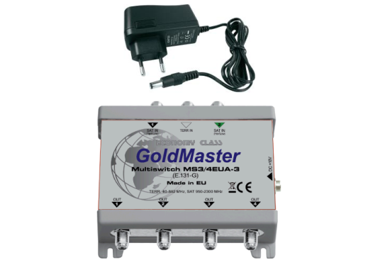 МУЛЬТИСВИТЧ GOLD MASTER MS3/4EUA-3