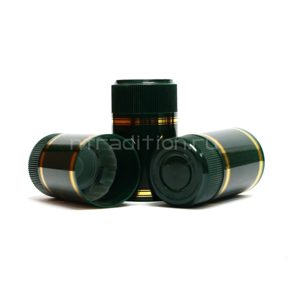 Колпачок с дозатором Гуала - зеленый 59 мм (10 шт.)