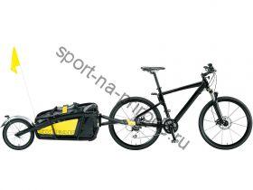 """TOPEAK Journey Trailer алюминиевый велоприцеп с водонепроницаемым чехлом с 16"""" задним колёсом"""