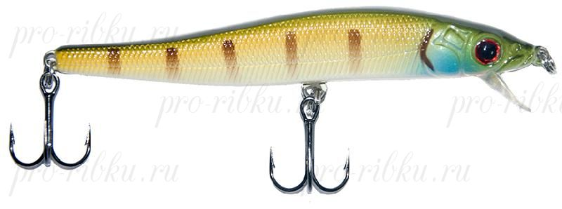 Воблер RUBICON HUNTER MINNOW F, 80mm, 5.2gr, depth 0-0.5m, F203