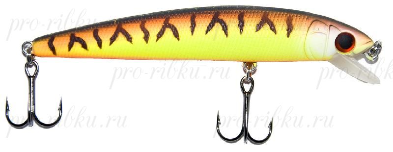 Воблер RUBICON RANG MINNOW F, 80mm, 6.8gr, depth 0-0.5m, F1090