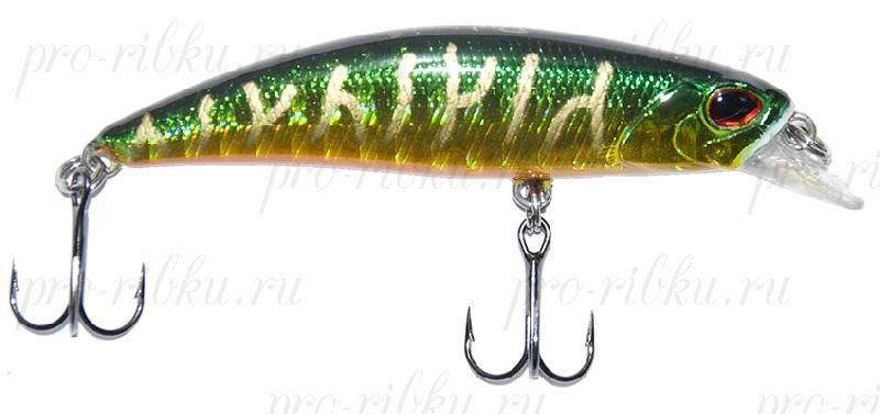 Воблер RUBICON RANK MINNOW S, 60mm, 6.5gr, A377