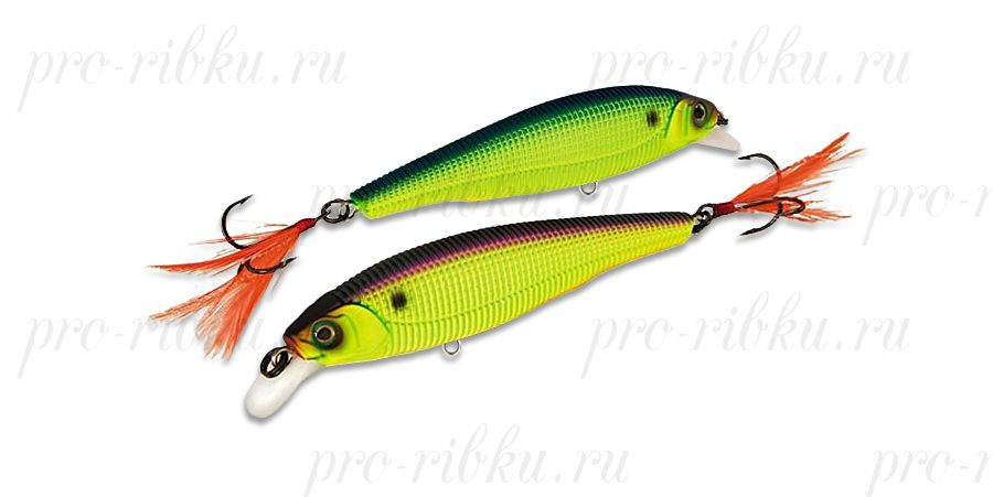 Воблер Yo-Zuri Jerk Bait FW (SP) 70mm R1019-CMAC