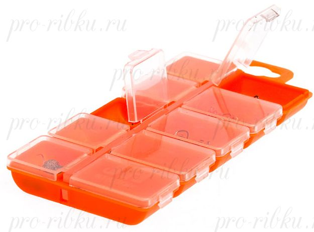 Коробка AQUATECH 10 ячеек с крышками