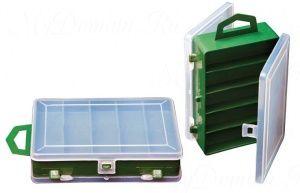 Коробка ТРИ КИТА ТК-12 двойная прозрачная 11+3 отделений