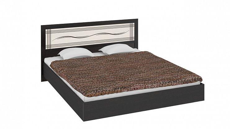 Двуспальная кровать с широкой вставкой Токио