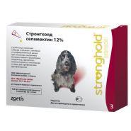 Стронгхолд 120 Капли на холку антипаразитарные для собак от 10 до 20 кг (3 шт./уп.)