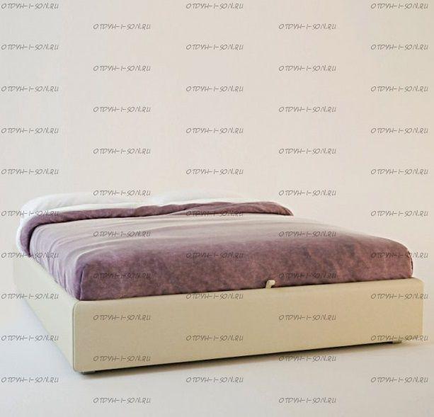 Кровать-подиум с классическим основанием