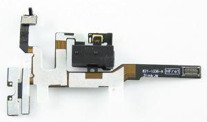 FLC (Шлейф) Apple iPhone 4S (на разъем гарнитуру с боковыми кнопками) (black) Оригинал