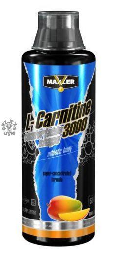 MAXLER L-Carnitine 3000мг 500 мл скл 2 1-2 дня