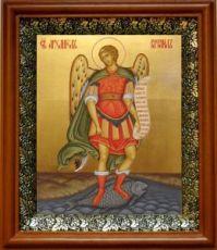 Рафаил Архангел (19х22), светлый киот