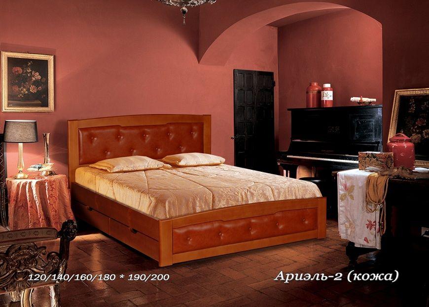 Кровать Ариэль-2 (кожа) | Альянс XXI век