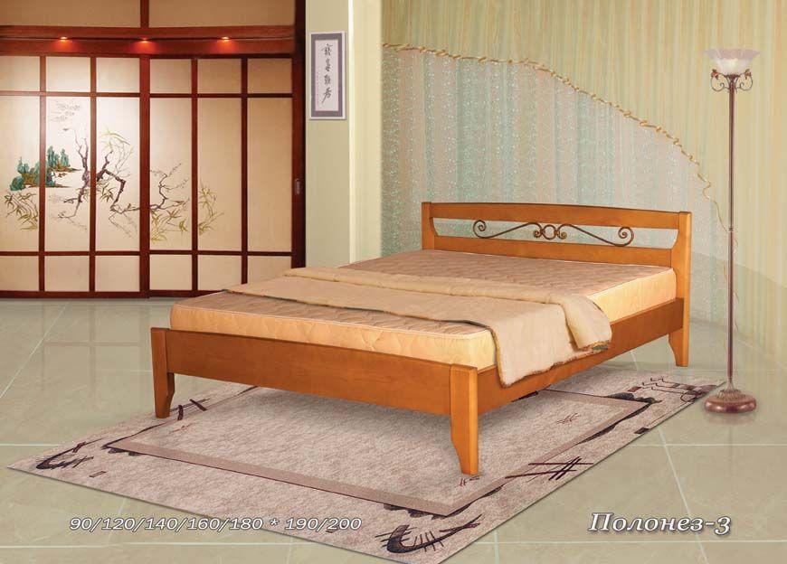 Кровать Полонез-3/2 (ковка) | Альянс XXI век