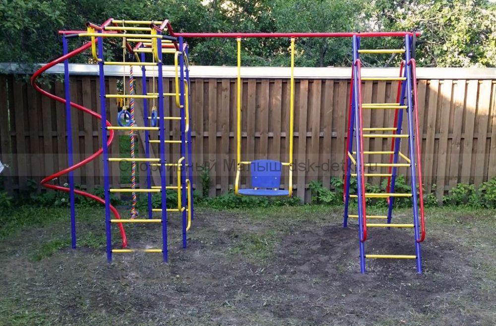Детская спортивная площадка дачная
