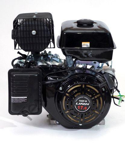 Двигатель Lifan 192F D25 (17 л. с.) с катушкой освещения 3Ампер (36Вт)