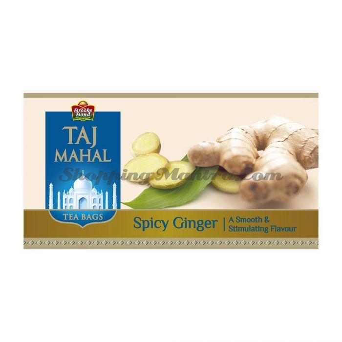 Имбирный чай Тадж Махал в пакетиках | Brooke Bond Taj Mahal Spicy Ginger Tea Bags