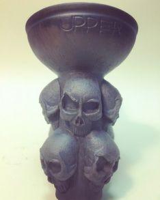 Чаша для кальяна Upper Skull Bowl (Черепа)
