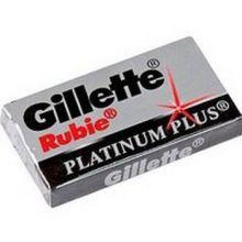 Gillette Rubie platinum plus лезвия для бритья 5 шт./20/200/