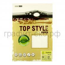 Бумага А4 Smart Line Top Style tradition white белая 100г/м 50л 3225