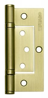 Петля универсальная без врезки 300-2BB 100x2,5 SB (Матовое золото)
