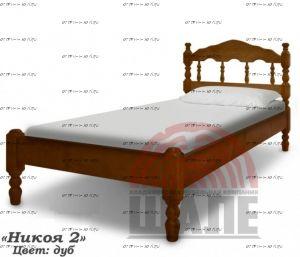 Кровать Никоя-2 (ВМК Шале)
