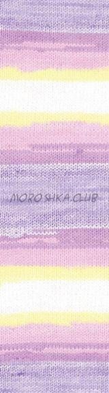 Цвет 4006 Baby wool batik Alize, упаковка 10 моточков