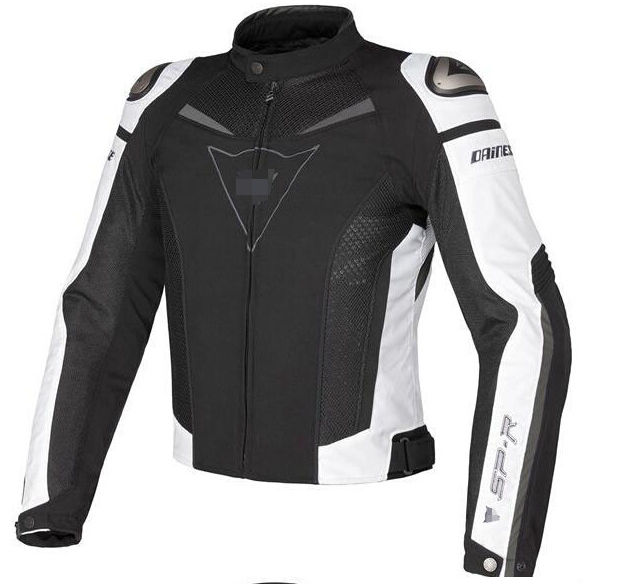 Куртка мотоциклетная (текстиль) Dainese SP-R TEX Black-White