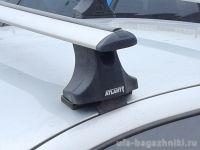 Багажник на крышу Nissan Almera Classic, Атлант, крыловидные дуги