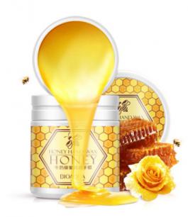 """Парафиновая маска-пленка для рук"""" BIOAQUA """" молоко и мед.(2751)"""