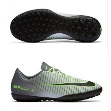 Детские шиповки-сороконожки Nike Mercurial Vapor XI TF серые