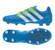 Кожаные бутсы adidas Ace 16.1 Leather FG/AG синие
