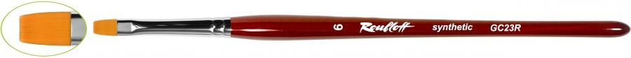 GC23R - плоская из синтетического волоса №4