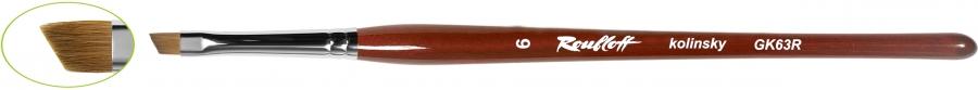 GK63R - наклонная из волоса колонка №7