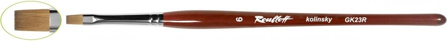 GK23R - плоская из волоса колонка №6