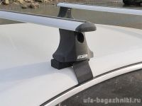 Багажник на крышу Volkswagen Passat B6, Атлант, крыловидные дуги