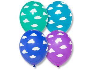 Облака латексные шары с гелием
