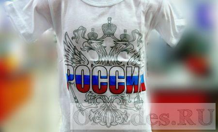 Футболка детская Герб России
